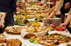 A corporate buffet might be perfect for your event