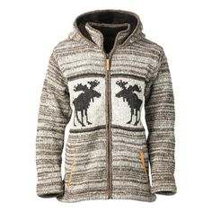 Kyber Brown Moose Sweater - Brown Heather Autumn Winter Fashion, Fall Winter, Brown Sweater, Moose, Hoodies, Sweaters, How To Wear, Outfits, Clothes