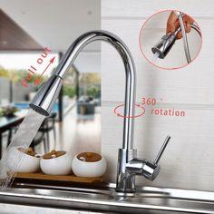 Chrome Finished Single Handle Double Spout Kitchen Faucet Deck Amazing Discount Kitchen Faucets Decorating Inspiration