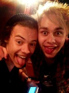 Harry Styles & Michael Clifford