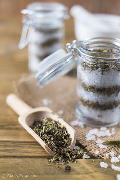 Geschenke aus der Küche: Kräuter-Salz I Gifts from the kitchen: Herbal salt