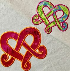 Love Knot applique design 4×4 5×5 | Flowerdog Designs