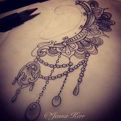 lace tattoo under breast Side Tattoos, Foot Tattoos, Body Art Tattoos, New Tattoos, Tattoo Drawings, Tatoos, Piercing Tattoo, Piercings, Sternum Tattoo