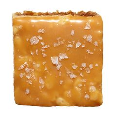 Salted Caramel Treats Recipe - Caramel: 50 caramels, can sweetened condensed milk, ¼ cup butter.  Squares: ¼ cup butter, 1 bag mini marshmallows, 1 & ½ tsp vanilla 3 tsp sea salt flakes 8 c toasted rice cereal
