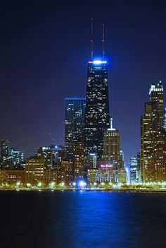 Downtown Chicago @ Night