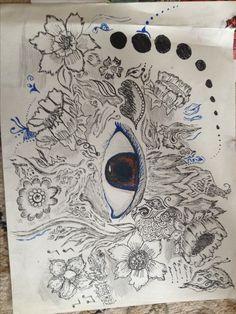 Doodle  Pen ink watercolour