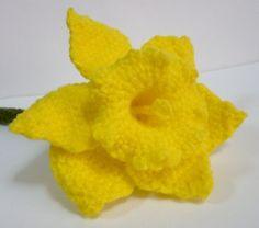 MAY PURCHASE PATTER  ~ Flower Crochet Pattern Daffodil Crochet Pattern PDF by melbangel