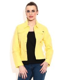 922815fbcdf5 Being Human Yellow Cotton Full Sleeves Jacket Coupons, Blazer, Sweaters,  Coat, Clothes