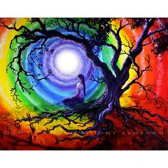 Tree of life Rainbow