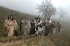Perchtenlauf processions