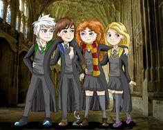 The Big Four Hogwarts Eas