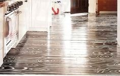 Tips For DIY Faux Bois Flooring? — Good Questions | Apartment Therapy
