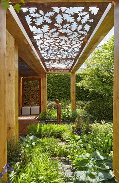 Garden structures should enhance your landscape through character and style. - Garden design 2019 Garden structures should enhance your landscape through character and style., # garden co. Backyard Pergola, Backyard Landscaping, Landscaping Ideas, Pergola Kits, Patio Ideas, Pergola Ideas, Backyard Ideas, Landscaping Software, Backyard Shade