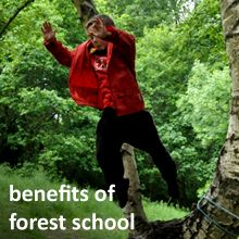 Benefits of Forest School explains the Forest Schools Philosophy with hel