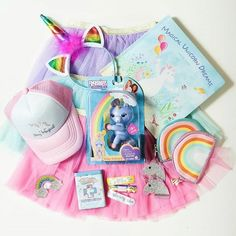 Toddler girl unicorn themed gifts and toys for