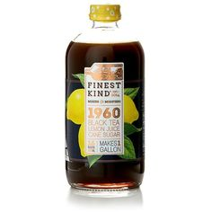 Finest Kinds 1960 Black Tea, Lemon and Cane Sugar Mixer ($11) ❤ liked on Polyvore featuring home, kitchen & dining, teapots, tea-pot and tea pot