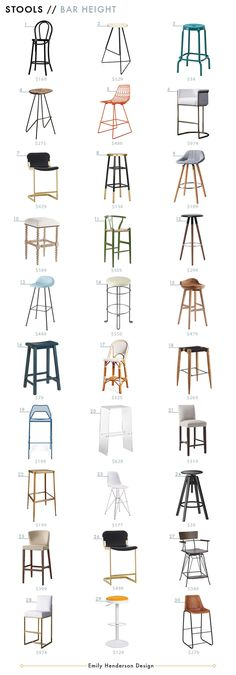 Barstool_Emily Henderson_Roundup_Affordable_MidCentury_Chair_Budget_Best Barstools_Ellen Lacompte Kitchen