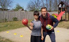 Ügyességi feladatok labdával - Online testnevelés 18. rész VIDEÓ - Kalauzoló - Online tanulás