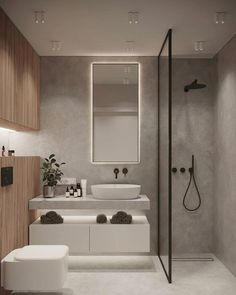 Modern Farmhouse, Rustic Modern, Classic, light and airy master bathroom design suggestions. Bathroom makeover ideas and master bathroom renovation a few ideas. Bathroom Design Luxury, Modern Bathroom Design, Minimal Bathroom, Best Bathroom Designs, Modern Toilet Design, Small Home Interior Design, Modern Luxury Bathroom, Modern Design, Modern Bathrooms