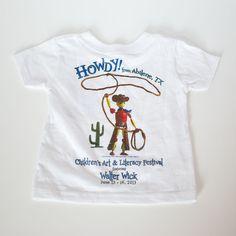 2013 - Walter Wick - CALF Shirt #Abilene #AbileneTX #StorybookCapitalofTexas #Shirt #Tshirt #GraphicTshirt