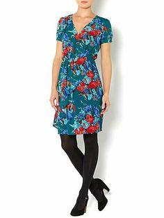 Ladies water floral print dress