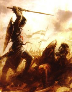 God Bless The Crusades! God Bless The Crusaders! Bring Back The Christian Militant! Crusader Knight, Knight Armor, Medieval Knight, Medieval Fantasy, Knight Tattoo, Christian Warrior, Knights Templar, Dark Ages, Paladin
