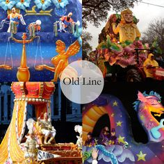 The historic, old-line parades in our Mardi Gras krewe guide! #NOLA #MardiGras
