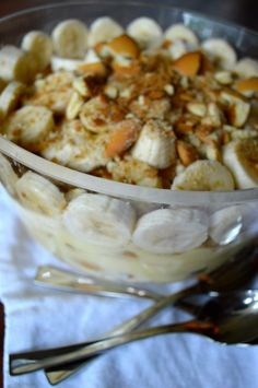 Best BBQ style Banana Pudding: Best summer dessert we ever have on our menu!