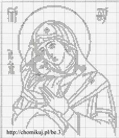 Gallery.ru / Фото #35 - Богородица (схемы) - Olgakam