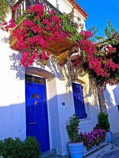 Bodrum Houses, Bodrum, Mugla, The Western Anatolia, Turkey