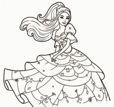 108 Gambar Hitam Putih Princess HD Terbaik