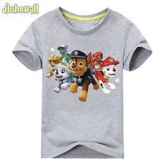 f0c24d0d1 2017 Boy Girls Short Sleeve T shirt Baby Cartoon Dog Printing Tee Tops  Children Cotton Clothes For Summer Kids Costume ACY002-in T-Shirts from  Mother & Kids ...