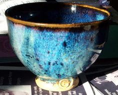 """Peter's Pottery: Chun glaze - """"I use an Emmanuel Cooper chun recipe quite a lot, which I usually fire between cone 9 and cone 10. This recipe is really supposed to be for Cones 7 - 9 and I was wondering if you could adapt it to cone 6 by adding some borax frit, probably 10 - 20 percent?? The recipe is as follows Potash Feldspar 46 Dolomite 6 Zinc Oxide 6 Whiting 10 China Clay 2 Silica 30 This gives a good blue chun over an iron bearing slip or a tenmoko type glaze. Reduction is not needed."""