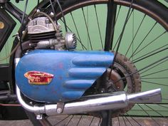 Famous bicycle bike engine of Dainippon machinery industry in 1953 light bicycle is KB-1 of the bright departure had been used.