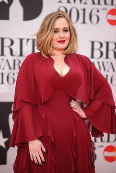 Pin for Later: Adele Looks So Good at the Brit Awards, You'll Want to Bow at Her Feet