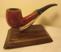 Vintage Kaywoodie Standard Bent Billiard Estate Briar Tobacco Smoking Pipe #14