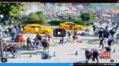 (VİDEO) Ankara'daki Patlama Anı Güvenlik Kamerasında: Bombalı Saldırıda Patlama Anı