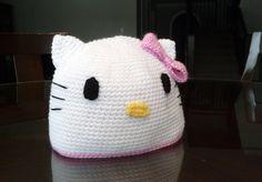 Hello Kitty Beanie (Crochet) - inspirednest.ca