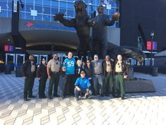 deputies were honored to escort to a game. Panthers Game, Sheriff Office, Wrestling, Sports, Sport