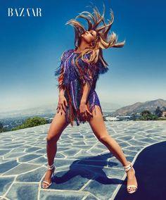 Jennifer Lopez Spumeggiante Super Hot Su Harper's Bazaar
