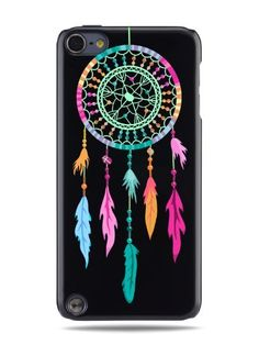 "GRÜV Case - Trés Chic! - Design ""Pièger à Rêves des Indiens d'Amérique"" - Impression de Haute Qualité sur Coque Rigide Noir - pour Apple iPod Touch 5 5G de GRÜV, http://www.amazon.fr/dp/B00JXNDOW6/ref=cm_sw_r_pi_dp_ilIAub0X3RS9Y"