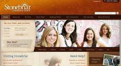 vandelaydesign.com - 50 of the best church website designs