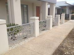 dekoratif lazer kesim bahçe çiti uygulamalarından