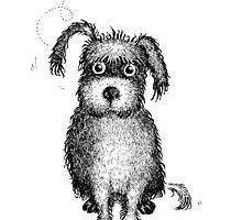 Lola the dog by Sally Barnett