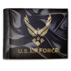 Wallet United States Air Force Flag, RFID Men's Bifold ID Case - Neonblond -- Check out this great product. (This is an Amazon Affiliate link and I receive a commission for the sales)