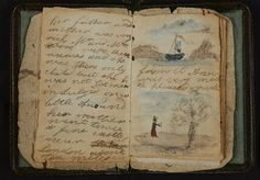 This is Charlotte Brontë's earliest known effort at writing, a short story written for her sister Anne, the baby of the family. It it also the first of the little books made by the Brontë children and, as such, it does not reach the level of technical sophistication that they were later to achieve. The writing is a clumsy longhand, there is no title page or contents list and no attempt is made to imitate magazine format.