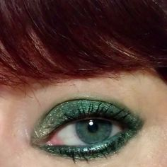 kats colourings: EOTD: Autumn Green and Gold...