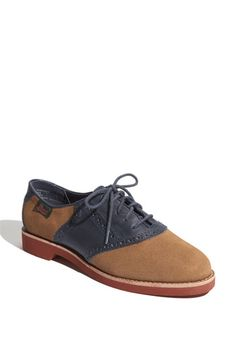 I have always loved saddle oxfords! I'm not sure why, but I have loved them and haven't had a pair in a long time. Maybe this fall I'll get a Type 1 version with navy. That would be a 1/4 look, right (for my DYT friends)?