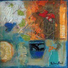 Chinese Vase Sylvia Paul Art 5 Gallery