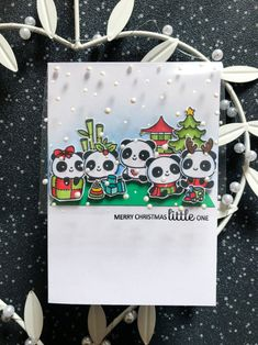 Stamps: Christmas Panda Plushies Christmas Panda, Cute Christmas Cards, Christmas Nativity, Christmas Wrapping, Christmas Morning, Christmas Ornaments, Merry Christmas, Joy Taylor, Little Panda